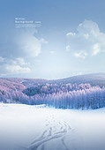 풍경 (컨셉), 겨울, 계절, 자연풍경, 포스터, 설경 (풍경)