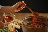 요리 (음식상태), 요리하기 (음식준비), 음식준비 (움직이는활동), 어묵탕, 어묵탕 (탕), 안주 (식사), 칠리가루 (향신료)