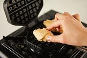 군것질 (Food And Drink), 디저트, 크로플, 브런치 (식사), 홈메이드, 요리도구