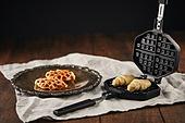 군것질 (Food And Drink), 디저트, 크로플, 브런치 (식사), 홈메이드
