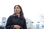 여성, 워킹맘, 출퇴근 (여행하기), 걱정, 역경 (컨셉)