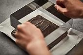초콜릿, 디저트, 파베초콜릿, 다크초콜릿 (초콜릿), 홈메이드, 쿠킹클래스, 반죽모양틀 (요리도구)