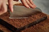 초콜릿, 디저트, 파베초콜릿, 다크초콜릿 (초콜릿), 홈메이드, 쿠킹클래스, 코코아분말