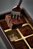 초콜릿, 디저트, 파베초콜릿, 발렌타인데이 (홀리데이), 다크초콜릿 (초콜릿), 홈메이드, 쿠킹클래스, 포크