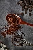 초콜릿, 디저트, 파베초콜릿, 발렌타인데이 (홀리데이), 다크초콜릿 (초콜릿), 홈메이드, 쿠킹클래스, 코코아분말 (가루), 철제거품기 (요리도구)