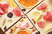 초콜릿, 디저트, 발렌타인데이 (홀리데이), 초콜릿 (달콤한음식), 달콤한음식 (음식), 홈메이드, 쿠킹클래스 (가정학수업), 말린과일