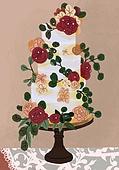 결혼 (사건), 결혼, 연례행사 (사건), 장식품 (인조물건), 결혼식, 꽃, 실외 (Setting), 웨딩케이크
