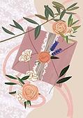 결혼 (사건), 결혼, 연례행사 (사건), 장식품 (인조물건), 결혼식, 꽃, 실외 (Setting), 청첩장