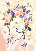 결혼 (사건), 결혼, 연례행사 (사건), 장식품 (인조물건), 결혼식, 꽃, 실외 (Setting), 화환 (꽃꽂이), 레이스 (천)