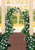 결혼 (사건), 결혼, 연례행사 (사건), 장식품 (인조물건), 결혼식, 꽃, 실외 (Setting)