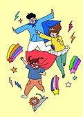 가족, 애정표현 (밝은표정), 밝은표정, 건강한생활 (주제), 부모, 자식 (가족), 장난치기 (감정), 슈퍼히어로