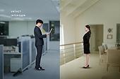 비즈니스, 채용, 비대면, 면접, 채용 (고용문제), 화상면접
