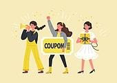 사람, 연례행사 (사건), 상업이벤트 (사건), 쇼핑 (상업활동), 세일 (상업이벤트), 봄, 2021년, 여성