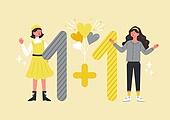 사람, 연례행사 (사건), 상업이벤트 (사건), 쇼핑 (상업활동), 세일 (상업이벤트), 봄, 2021년, 여성, 원플러스원