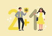 사람, 연례행사 (사건), 상업이벤트 (사건), 쇼핑 (상업활동), 세일 (상업이벤트), 봄, 2021년, 여성, 남성
