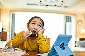 어린이 (나이), 식사, 혼밥, 삼각김밥, 먹기, 간편식 (음식)