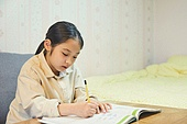 초등학생, 홈스쿨링 (교육), 집 (주거건물)