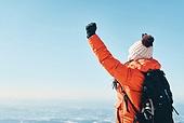 겨울, 산 (지세), 하이킹 (아웃도어), 산악등반 (클라이밍), 하이킹, 산악등반, 도전 (컨셉), 체력, 성취, 취미, 운동, 맨위 (위치묘사), 성공, 산봉우리