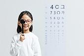 어린이 (나이), 사람눈 (주요신체부분), 시력, 사람눈, 안과, 근시, 시력검사 (건강관리), 시력검사표, 안경