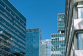 서울 (대한민국), 도시, 도시풍경 (도시), 고층빌딩 (회사건물), 금융빌딩, 비즈니스, 비즈니스 (주제)