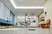 실내, 디지털, 홈오토메이션, 로봇청소기