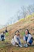 한국인, 묘목, 식목일, 환경보호, 식목 (환경보호), 미소, 견학 (사건)