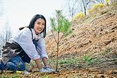 한국인, 묘목, 식목일, 환경보호, 식목 (환경보호), 환경운동가 (역할), 환경 (주제)
