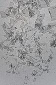 플라스틱, 쓰레기 (물체묘사), 실루엣, 미세플라스틱, 지저분함 (나쁜상태), 환경오염