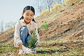 한국인, 어린이 (나이), 식목일, 식목 (환경보호), 환경 (주제), 환경보호, 탄소중립, 묘목