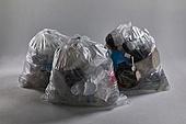 플라스틱, 쓰레기 (물체묘사), 비닐봉투 (가방), 환경오염, 재활용 (환경보호), 쓰레기봉투 (클리닝도구)