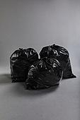 쓰레기 (물체묘사), 비닐봉투 (가방), 환경오염, 재활용 (환경보호), 검정색 (색), 쓰레기봉투