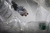 플라스틱, 쓰레기 (물체묘사), 폐기 (나쁜상태), 비닐봉투 (가방), 재활용 (환경보호), 페트병