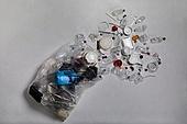 플라스틱, 쓰레기 (물체묘사), 비닐봉투 (가방), 환경오염, 재활용 (환경보호), 흩뿌리기