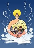 불교, 부처님오신날, 부처님오신날 (홀리데이), 종교, 부처 (불교), 연꽃