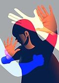 폭력, 학대, 사람, 가정폭력, 데이트폭력, 스트레스, 가스라이팅