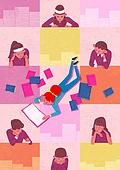 사람, 정신건강 (주제), 건강한생활 (주제), 스트레스, 책, 독서 (읽기)