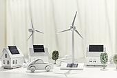 연료와전력발전 (주제), 풍력 (대체에너지), 풍력터빈, 대체에너지 (연료와전력발전), 대체에너지, 풍력터빈 (터빈), 지속가능한에너지 (연료와전력발전), 탄소배출권 (주제), 탄소중립 (환경보호), 태양열에너지 (대체에너지), 태양열장비 (동력장비), 태양열에너지집열판