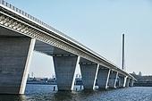 건설물, 다리 (인공구조물), 월드컵대교, 한강 (강)