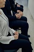 면접, 채용 (고용문제), 실업 (고용문제), 면접 (인터뷰), 고용문제 (주제), 취업준비생 (역할), 구직 (실업), 스트레스 (컨셉), 불안 (컨셉), 한국인, 사람손