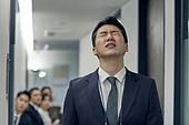 면접, 채용 (고용문제), 실업 (고용문제), 취업준비생 (역할), 구직 (실업), 한국인, 피로 (물체묘사), 스트레스, 실망 (슬픔), 좌절 (컨셉)