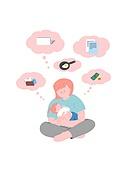 사람, 육아, 스트레스, 라이프스타일, 아기 (나이), 부모, 엄마, 걱정
