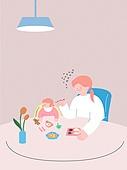 사람, 육아, 스트레스, 라이프스타일, 아기 (나이), 부모, 엄마, 이유식