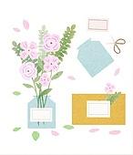 꽃, 선물 (인조물건), 배달 (일), 꽃다발, 가위, 연례행사 (사건), 봄, 꽃병