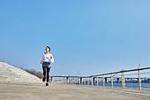 한국인, 건강관리 (주제), 달리기 (물리적활동), 조깅 (운동), 유산소운동 (운동), 여성