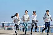 한국인, 건강관리 (주제), 달리기 (물리적활동), 조깅 (운동), 유산소운동 (운동)