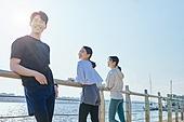 한국인, 건강관리 (주제), 달리기 (물리적활동), 조깅 (운동), 유산소운동 (운동), 기댐, 대화
