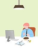 라이프스타일, 음식, 배달음식, 야식, 자장면 (면), 비즈니스맨