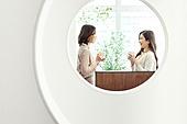 라이프스타일, 비즈니스, 휴식, 커뮤니케이션, 대화, 토론