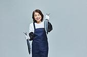 한국인, 상인 (소매업자), 시장상인 (상인), 50대 (중년), 여성, 산지직송