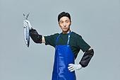 한국인, 상인 (소매업자), 시장상인 (상인), 산지직송, 삼치, 무표정